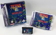 Nintendo Game Boy Advance GBA-Tetris Worlds + instrucciones + embalaje original