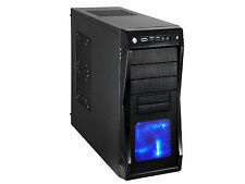 Rosewill Gaming Computer PC Case, ATX Mid Tower, Blue LED Front Fan, CHALLENGER