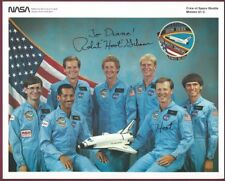 Robert L. Gibson, NASA Astronaut, Signed Photo, COA, UACC RD 036
