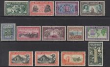 Pre-Decimal Lightly Hinged Postage New Zealand Stamps