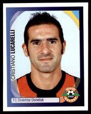 Panini Champions League 2007-2008 Cristiano Lucarelli Shakhtar Donetsk No. 398