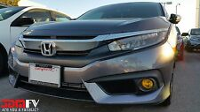 16-17 Civic SEDAN Yellow Fog Light Overlays JDM Mugen Tint Vinyl Film PRECUT