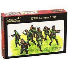 Unpainted Plastic German 1:72 & HO/OO Scale Toy Soldiers