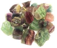 "Rough Fluorite Stones 1/2 lb lot 1"" Zentron™ Crystals"