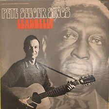 Pete Seeger Sings Leadbelly Folkways FTS 31022 1968 VG+ LP