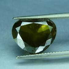 6.62 cts ! 100% Natural Fancy Yellowish Green Color  Pear Diamond For Ring
