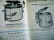 catalogue SENKING Marmites bain d'eau pour le chauffage au gaz cuisinières etc