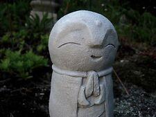 Jizo Concrete Statue, Buddhist Protector of Children, Concrete Buddha Style