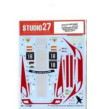 Studio27 DC1068 1:24 Mercedes SLS GT3 Blackfalcon #18 Monza 2014 Original Decals