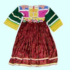 BellyDance Tribal DRESS Kuchi Afghan Turkman (sz 4) 782b1