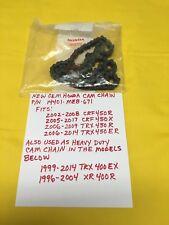 OEM HONDA Cam Chain CRF450R/CRF450X/TRX450ER/ TRX450R/ 400EX Heavy Duty/XR400R