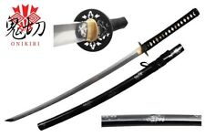 Onikiri Full Tang Handmade Japanese Katana Sword Sharp Blade with Certificate