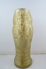 King Tut Drinking Glass - Luxor Hotel and Casino - Hand Blown and Shaped Glass