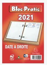 31101e Bloc Pratic Éphéméride Date À droite 120x82mm