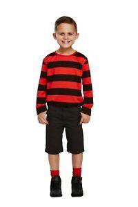 Kid's Menace Comic Book Costume: World Book Day Fancy Dress Character Boys Girls