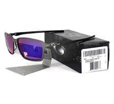 Oakley OO 6017-03 POLARIZED TINCAN Carbon OO Red Iridium Mens Sunglasses Rare .