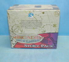 White Wolf Arcadia The Wyld Hunt Story Pack 1996 SEALED Box CCG Game 24 Packs