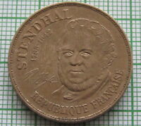 FRANCE 1983 10 FRANCS, 200th Anniversary of  STENDHAL, UNC