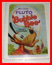 Targa in Latta Disney Pluto PLUTO BUBBLE BEE