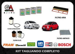 Kit Tagliando Fiat Panda 500 1.3 Multijet kw 55 51 + 4 L Selenia 5W40