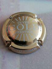 Capsule de Champagne PIERRE MIGNON Prestige Gold Doré à l'or Fin Blanc.