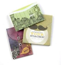 NEW K&Company® SMASH Book Accessory - MODERN GUSSETED POCKETS - 3 pieces