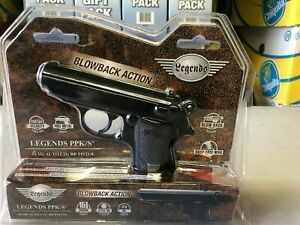 NEW Umarex Legends Walther PPK/S CO2 .177 Caliber BB Gun Air Pistol Semi-Auto