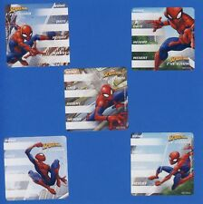 10 Marvel Spiderman I've Grown - Height and Weight - Large Stickers -Party Favor