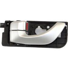 Interior Door Handle For 2006-2007 Hyundai Sonata Rear Driver Silver Plastic