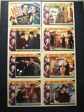 THE LONE WOLF MEETS A LADY '40 WARREN WILLIAM IS FAMOUS DETECTIVE COMPLETE SET