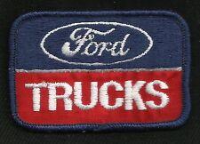VINTAGE Style Ford TRUCKS Automotive Collectors Patch