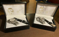 Marcel Drucker YOGI BERRA Yogisms Talking Quartz Watch in Box His & Hers AS IS