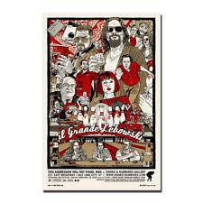 The Big Lebowski Classic Movie Art Silk Poster Vintage Prints 12x18 24x36 inches