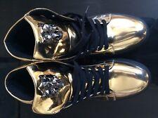 Mens Rock Hip Pop Rivet Lace Up High Top Snakers SHoes Flats Heel Uk SIze Casual