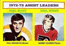 1973-74 Topps #2 Phil Esposito, Bobby Clarke