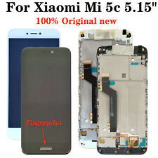 "Original New + Frame For Xiaomi Mi 5c 5.15"" LCD Display Touch Screen Digitizer"