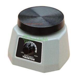 """JT Vibratore laboratorio odontoiatrico dentale 4"""" Oscillatore Round Shaker"""