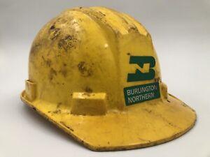 Burlington Northern Railroad Helmet - Vintage Hard hat Model # 5000