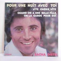 """33T Sacha DISTEL Disque Vinyle LP 12"""" POUR UNE NUIT AVEC TOI - CARRERE 67095"""