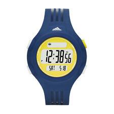 Adidas Questra Digital Display Analog Quartz Blue/yellow Watch ADP3146