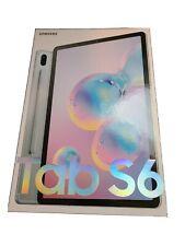 Samsung Galaxy Tab S6 128GB, Wi-Fi, 10.5 in - Cloud Blue
