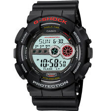 Casio G-Shock LCD Black resin Chronograph watch GD-100-1AER