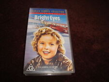 BRIGHT EYES - SHIRLEY TEMPLE - VHS VIDEO - 1934 COLOUR (New and Sealed)