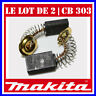 Le lot de 2 charbons 5 x 11 x 18.2 mm Makita CB-303