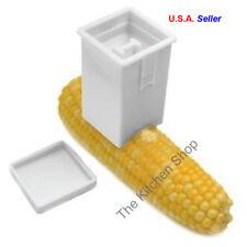 Corn On The Cob Butter Spreader Dispenser BBQ Gadget White Plastic New Norpro