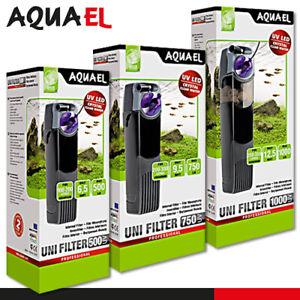 Aquael Unifilter UV Power 500, 750, 1000 Aquariumfilter Innenfilter UV Lampe