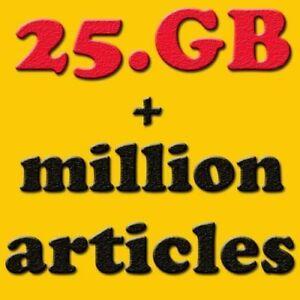 50,000 Ebooks+ 25GB Package niches Plr for website wordpress resell files