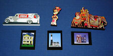 (3)  Coca-Cola Shelia's Collectible Historic Miniatures & Trading Cards    H043