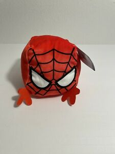 Cubd Collectibles Soft Plush Stuffed Cube  - New - Marvel Spider-Man