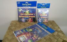 Monster Mania Party Loot Bags Thank You Cards Coloring Books 20pc Set ~New~
